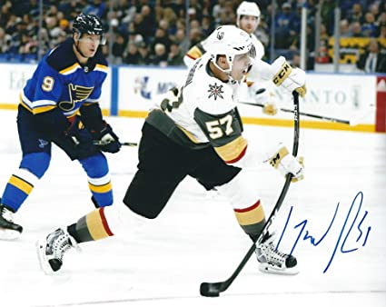 960ff1f66 Image Unavailable. Image not available for. Color  Autographed David Perron  Los Vegas Golden Knights ...