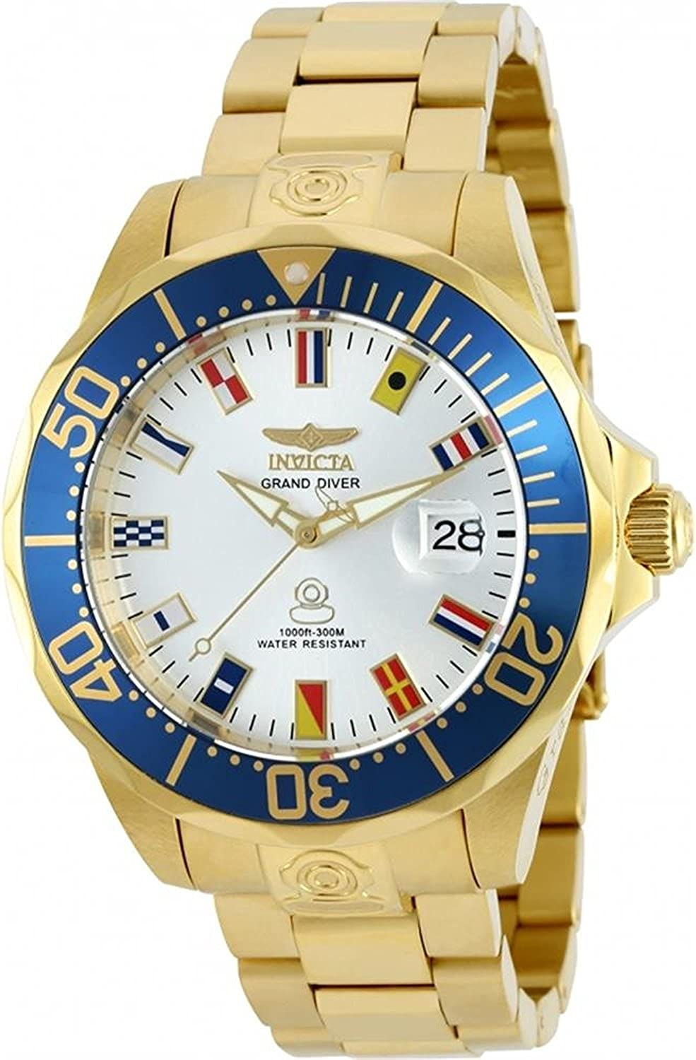 [インヴィクタ]Invicta 腕時計 Grand Pro Diver 47mm International Automatic Gold Stainless Steel 21325 メンズ [並行輸入品]