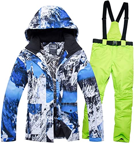 JXS-Outdoor - Traje de esquí para Mujer, Ropa de Invierno, Traje ...