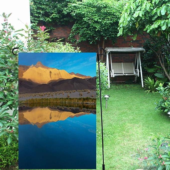 Amazon.com: Ahawoso Garden Flag 12x18 Inches Blue Altiplano ...