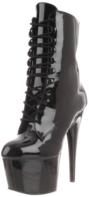 Pleaser Women's Adore-1020/B/M Boot B000YQTVGO 12 B(M) US|Black Patent