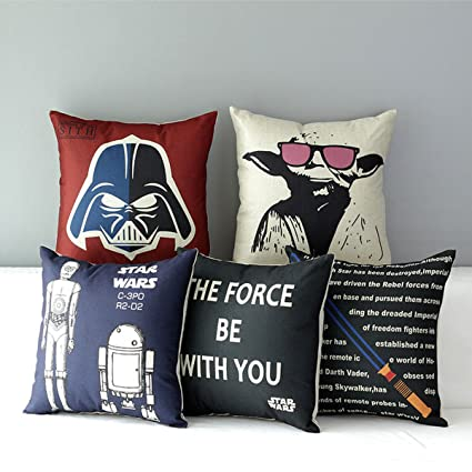 Miraculous Tavasdecor 17 Star Wars Home Sofa Chair Couch Decorative Throw Pillow Case Cushion Cover Bundle 5 Pieces One Set Creativecarmelina Interior Chair Design Creativecarmelinacom
