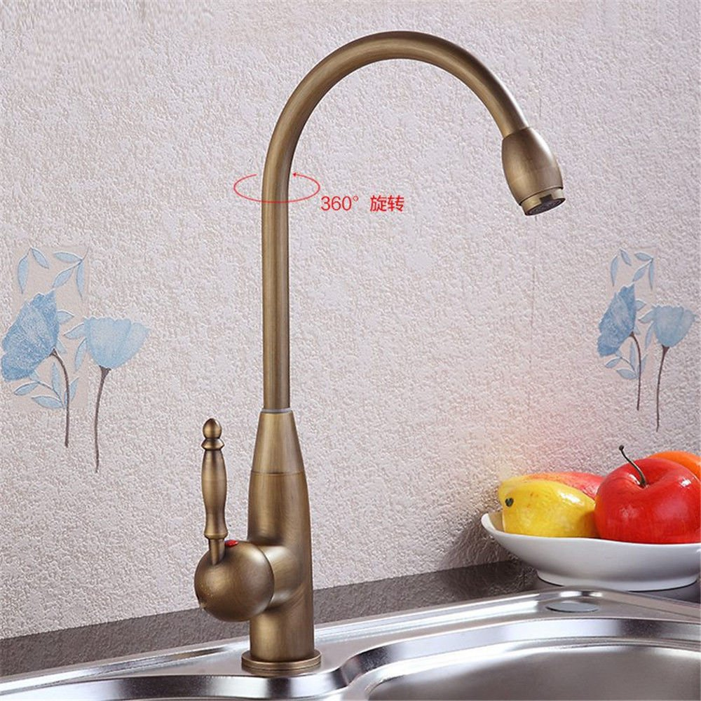 B NewBorn Faucet Kitchen Or Bathroom Sink Mixer Tap The Antique Copper Antique Sink Water Tap B