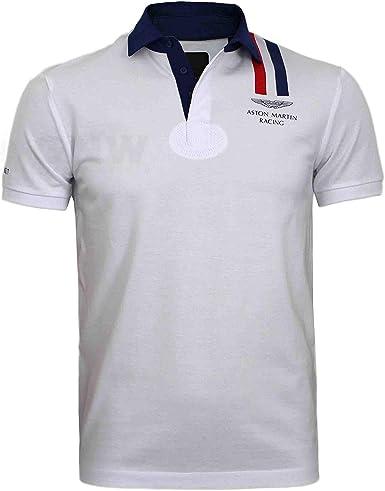 Hackett Aston Martin Racing - Polo para hombre, diseño de rayas ...