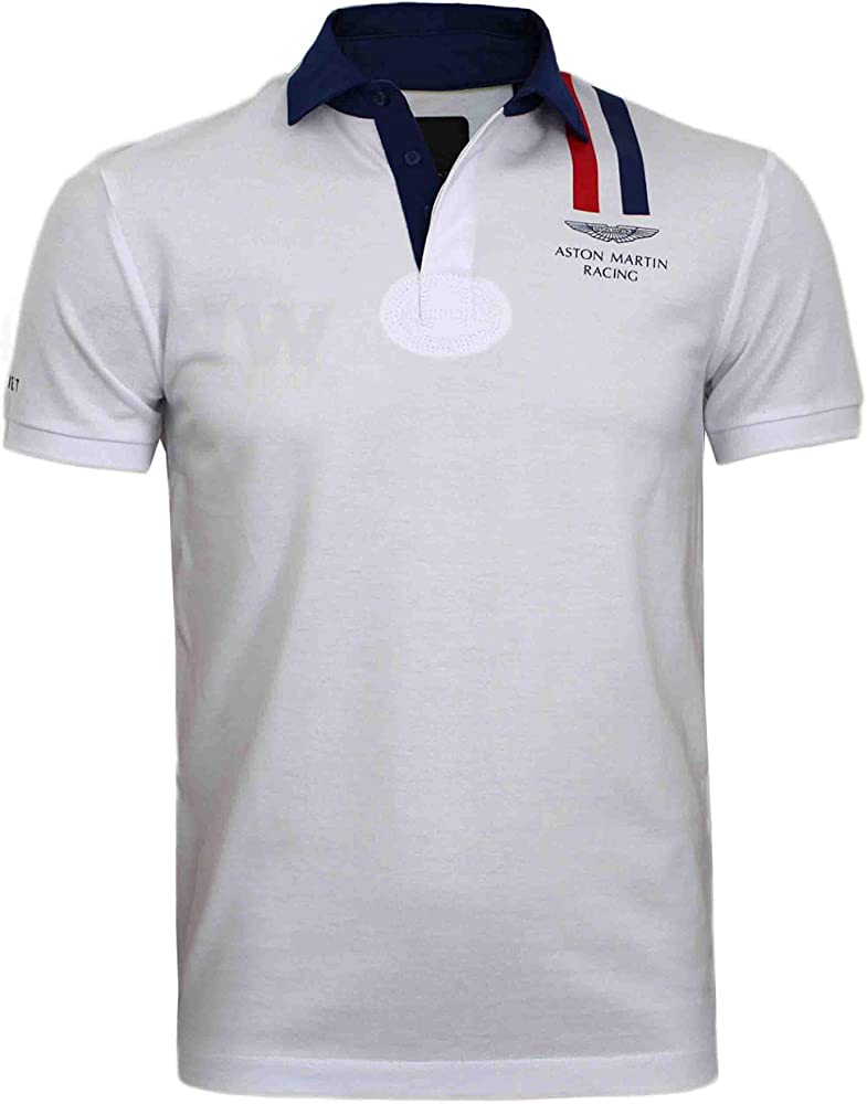 Hackett Aston Martin Racing Polo à rayures