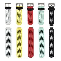 Fit-power - Bracelet de remplacement pour Garmin Forerunner 220/230/235/620/630/735XT - Taille unique
