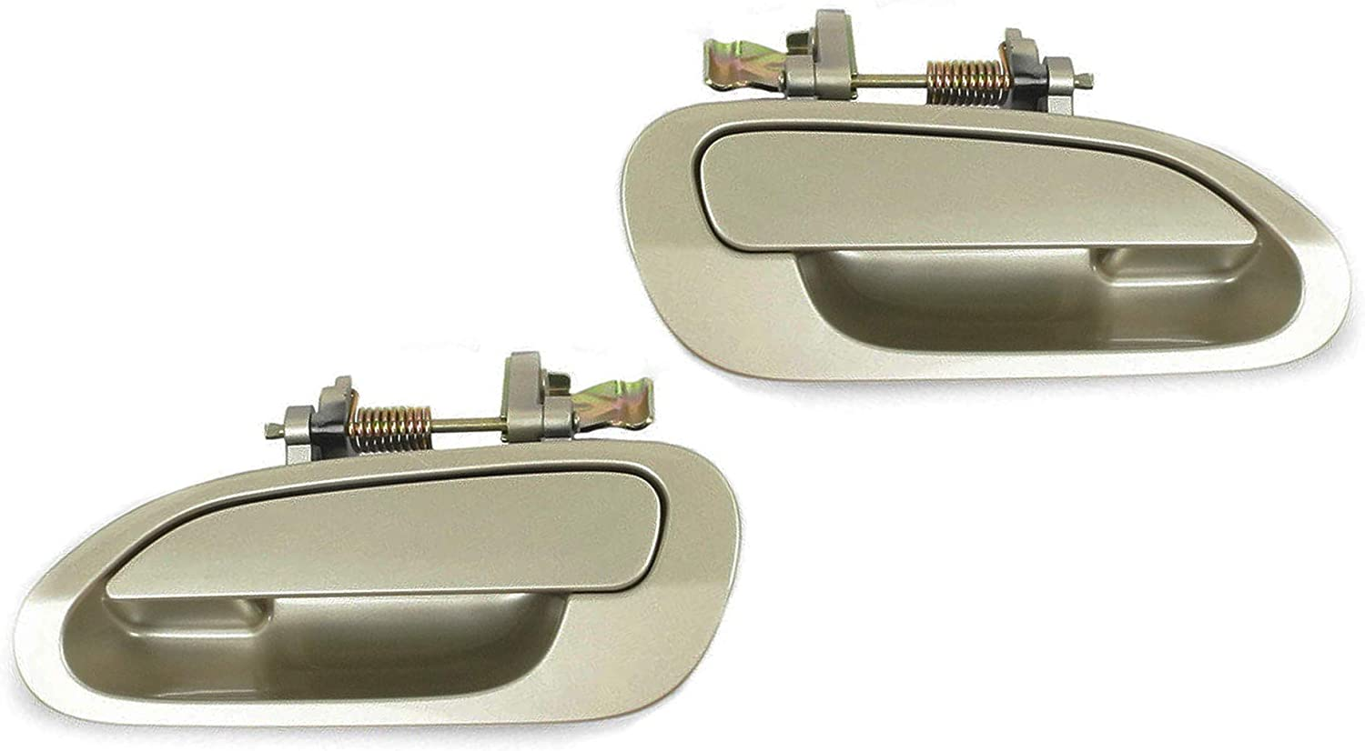Front L Outside Door Handle For 98-02 Honda Accord YR508M Heather Mist Metallic
