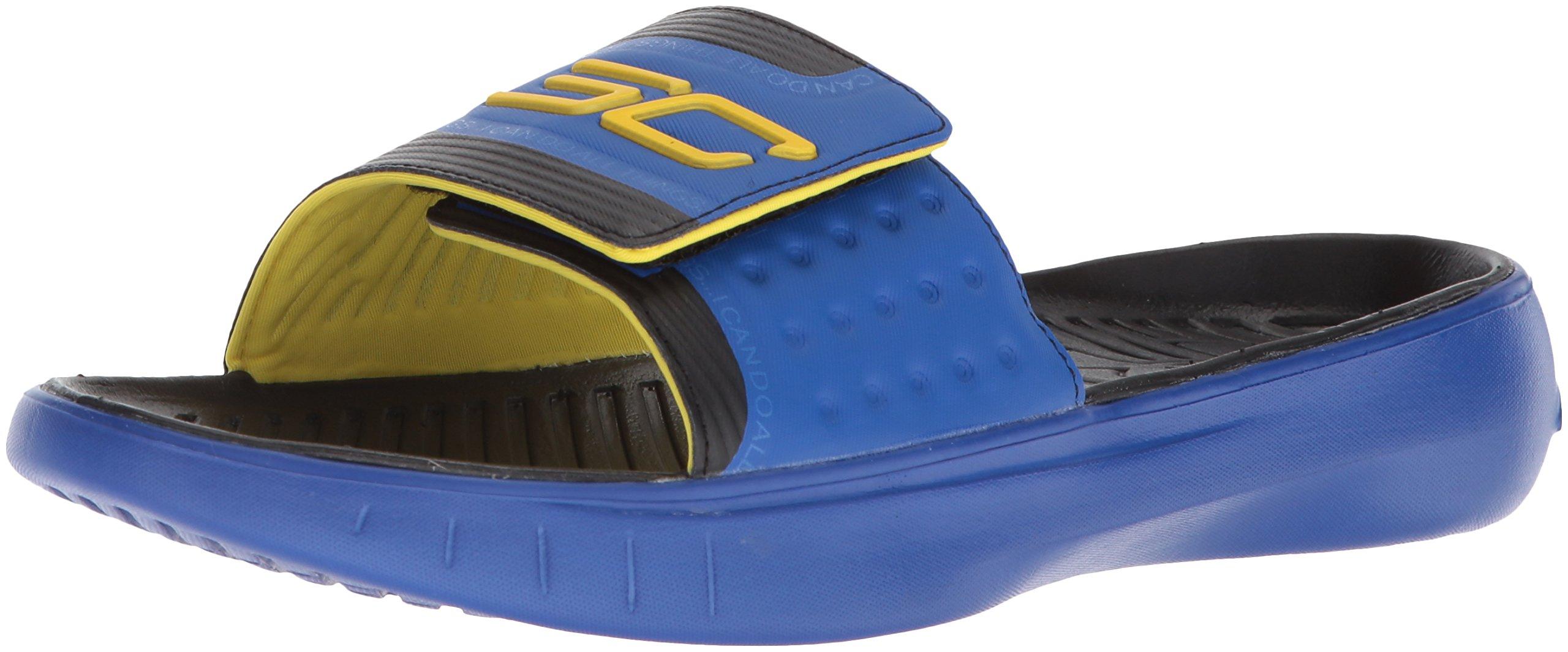 df5327f24fcc Galleon - Under Armour Men s Curry 4 Slides Sandal