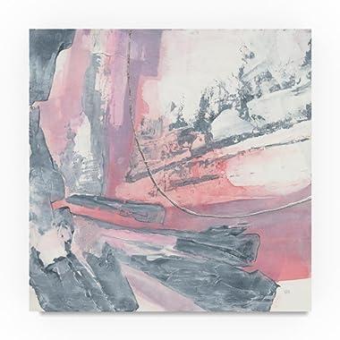 Whitewashed Blush I by Chris Paschke, 18x18-Inch Canvas Wall Art