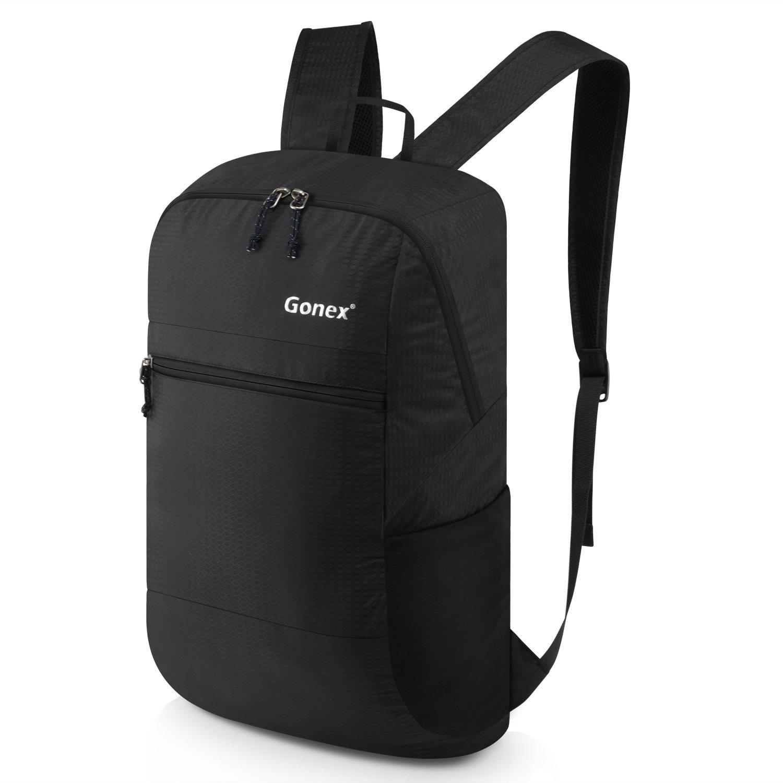 Gonex 30L Packable Lightweight Travel Hiking Backpack Daypack Black