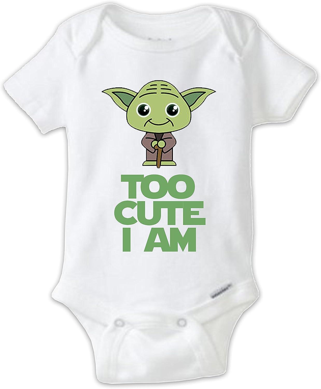 Star Wars Inspired Babygrow Novelty Baby Shower Star Wars Baby Top Cartoon