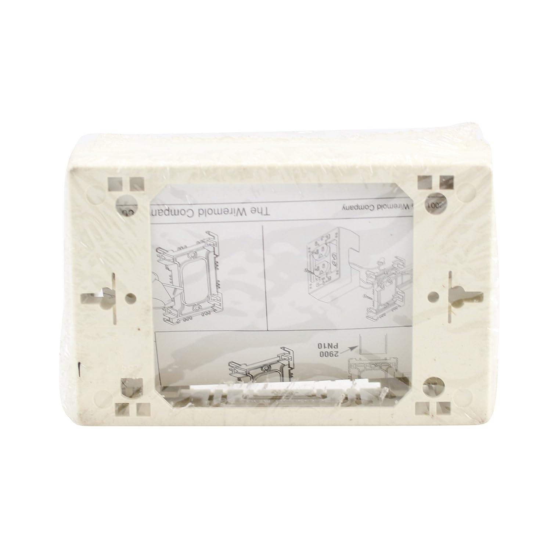 Amazon.com: Wiremold Legrand NM2048 Sure-Snap Deep Device Box ...