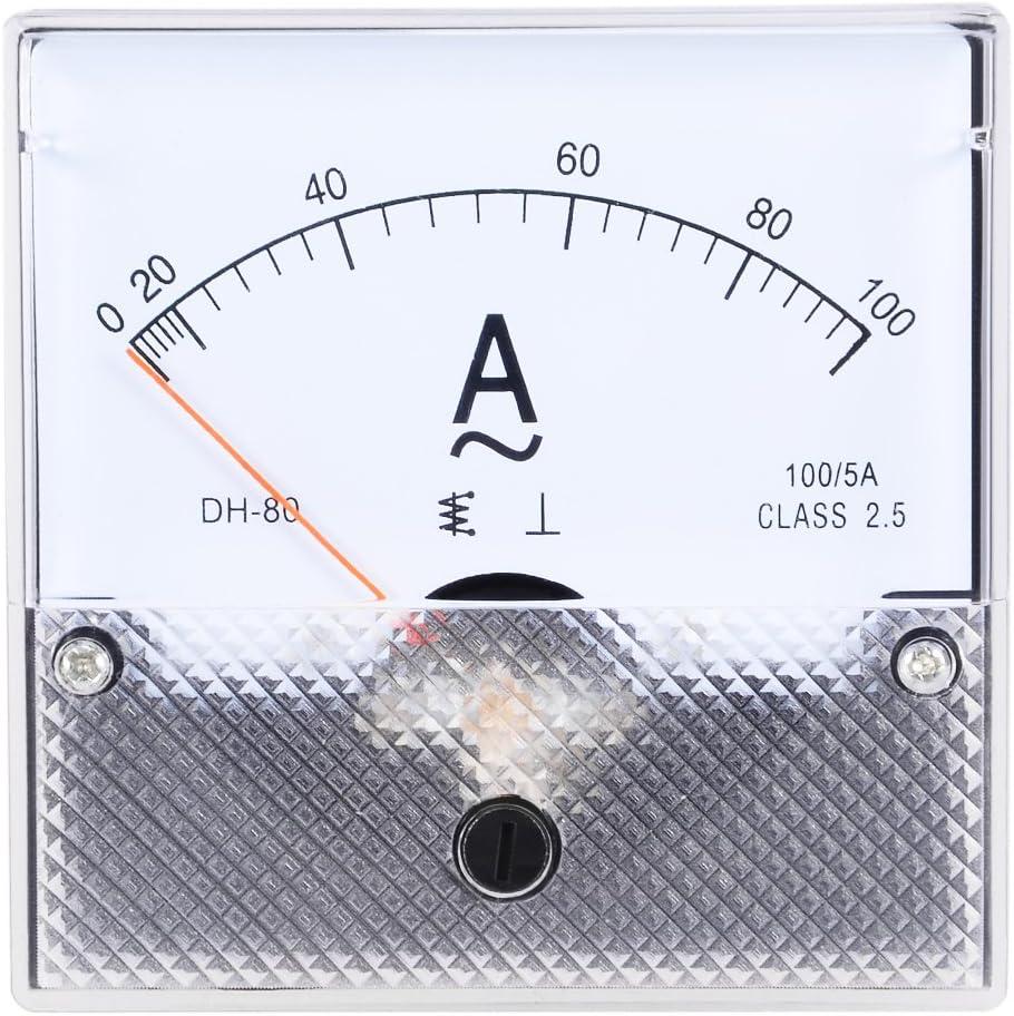 uxcell AC 0-50A Analog Panel Ammeter Gauge Ampere Current Meter SQ-72 1.5 Error Margin