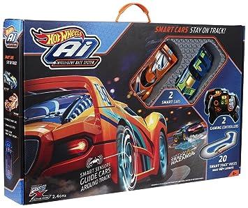Mattel Hot Wheels FBL83 Ai Intelligent Race System mit 2 Spielzeugautos
