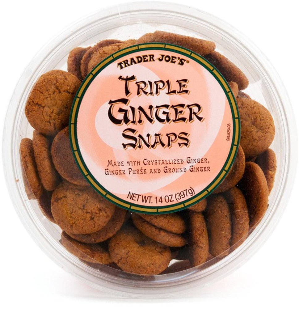 Trader Joe's Triple Ginger Snaps
