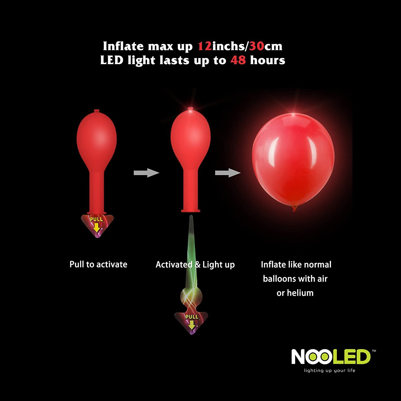 Amazon.com: Conjunto de 136- Glow LED Suministros para ...
