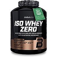 BioTechUSA Iso Whey ZERO, Lactose, Gluten, Sugar FREE, Premium Whey Protein Isolate, 2.27 kg, Caffé Latte