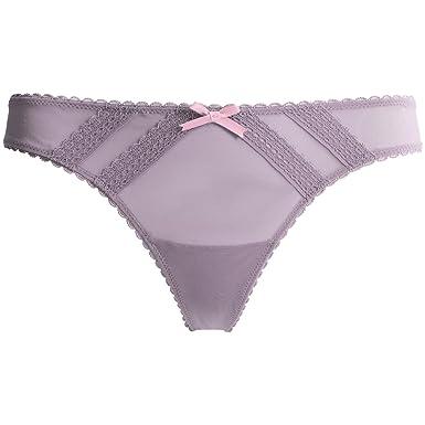 10e3e48f8 Betsey Johnson Women s Mesh Thong Panty at Amazon Women s Clothing store