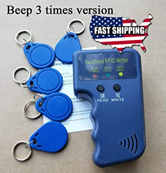 Portable Handheld Card Writer//Copier Duplicator for All 125KHz RFID Cards new