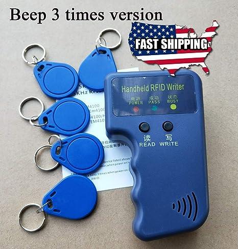 Amazon com : Portable Handheld Card Writer/Copier Duplicator