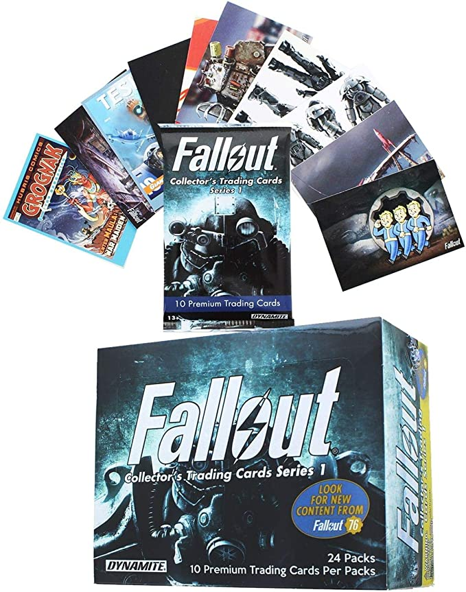 Dynamite Entertainment Fallout Trading Cards Series 1 Sealed Hobby ...