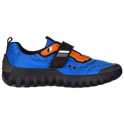 Prada Zapatillas Deportivas Hombre Azzurro + Nero: Amazon.es: Zapatos y complementos