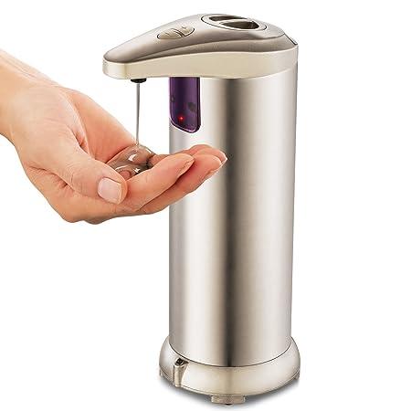 Dispensador de jabón, liquido automático Dispensador, de acero ...