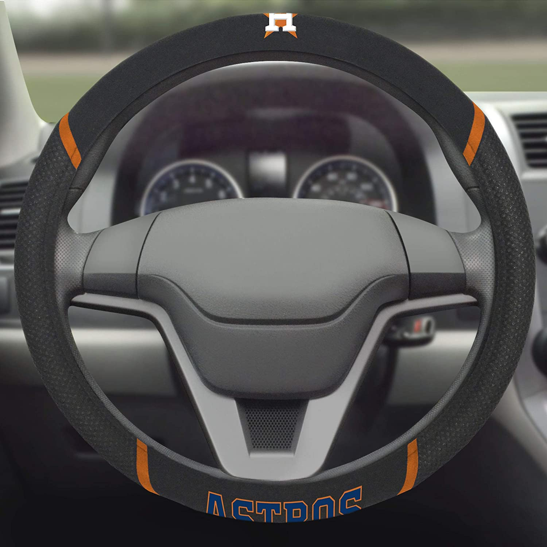 FANMATS 26592 MLB Houston Astros Steering Wheel Cover