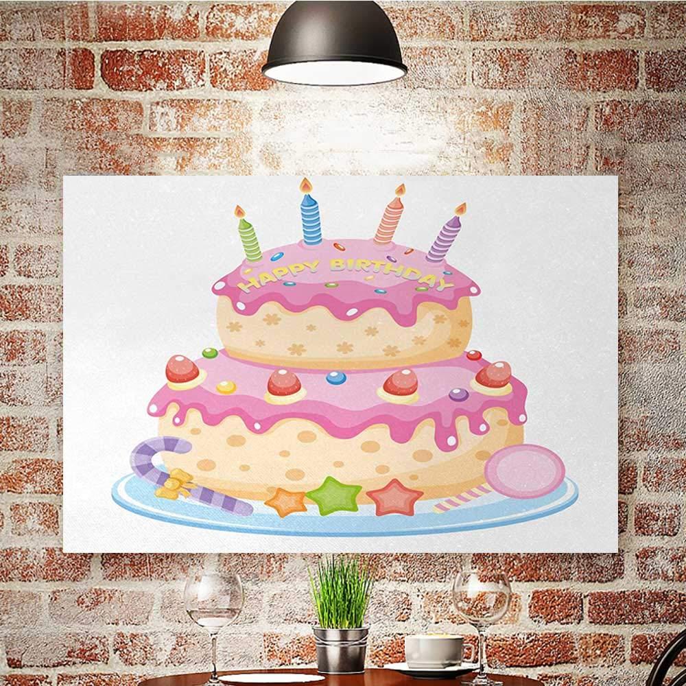 Amazon.com: Decoración de pared de cumpleaños para niños ...