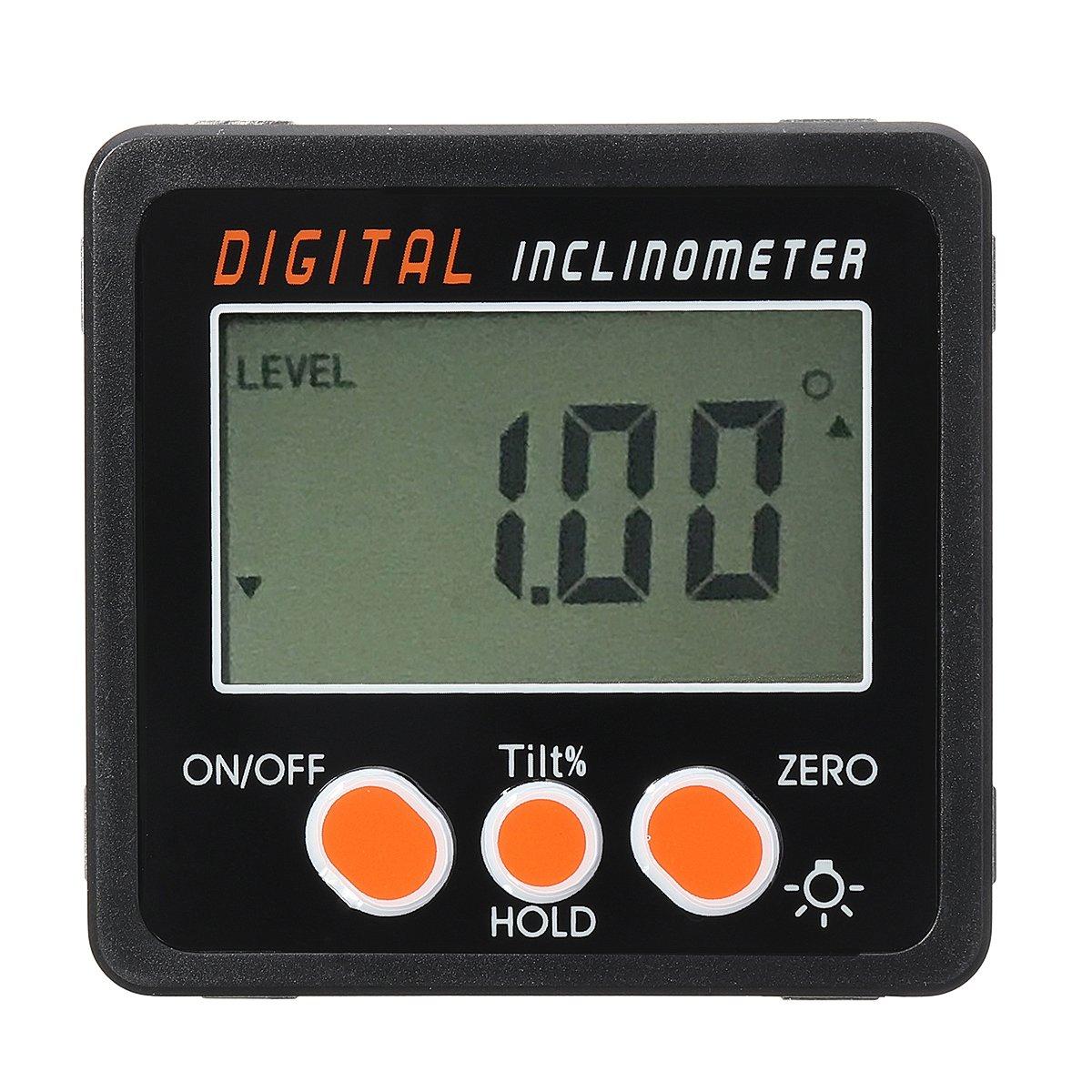 0.05 Spirit Level Digital Inclinometer Protractor Angle Finder Gauge Meter Bevel