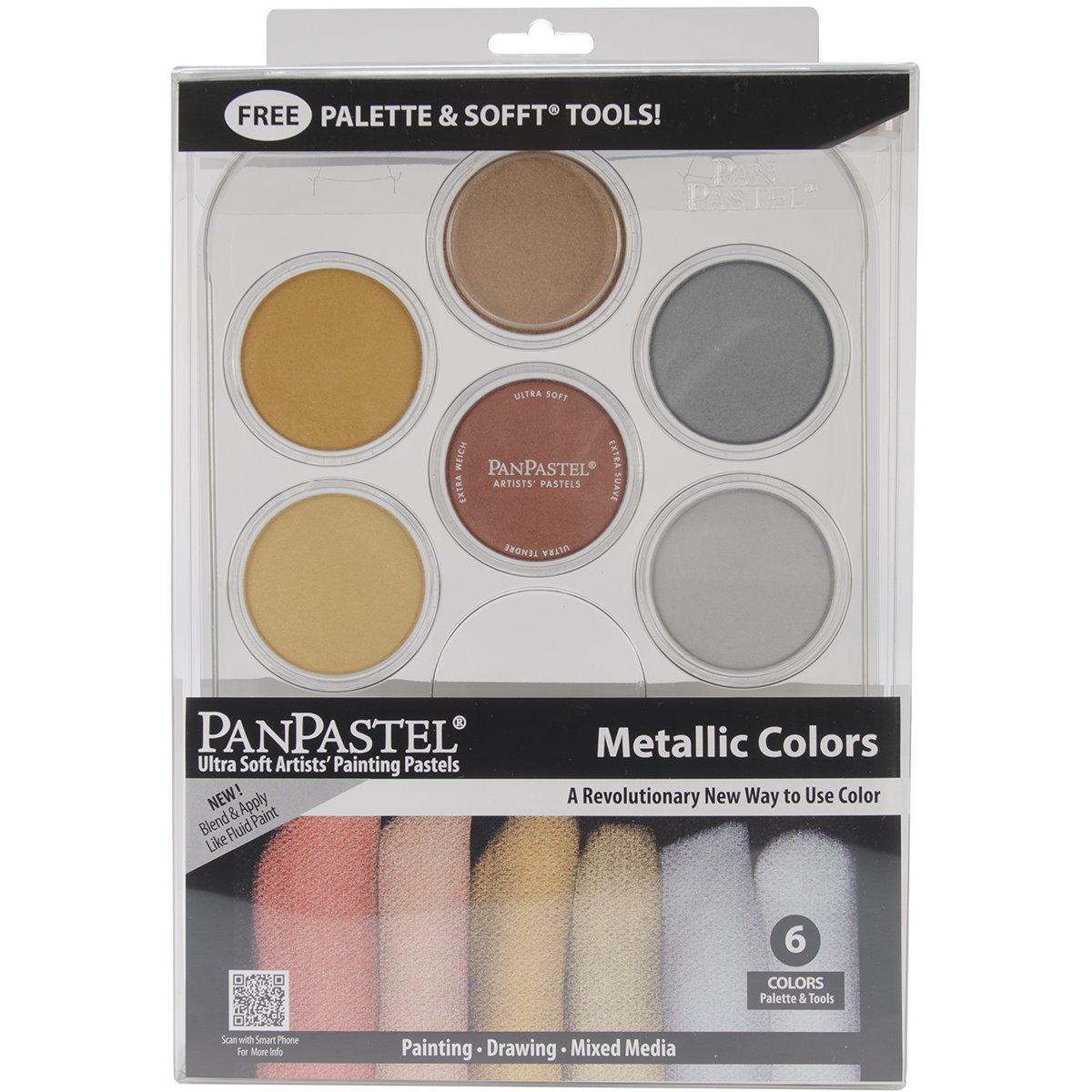 Colorfin PanPastel Metallics Kit (30077) ARMADILLO ART & CRAFT