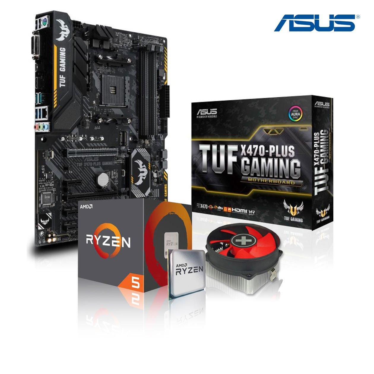 Memory PC Aufrüst-Kit Bundle AMD Ryzen 5 2600 6X 3.4 GHz, 16 GB DDR4, ASUS Prime B350M-A, komplett fertig montiert