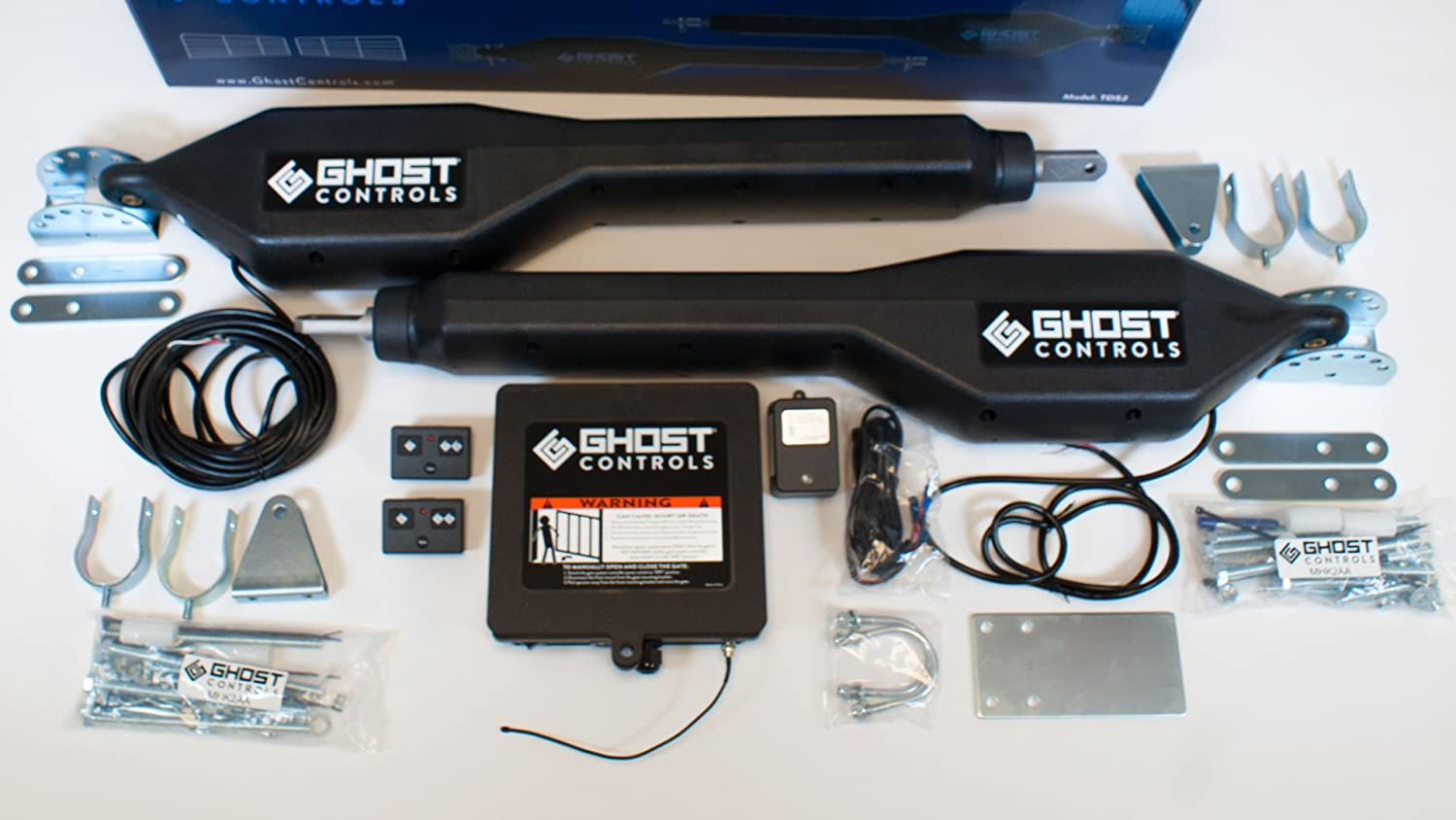 Ghost Controls TDS2 Heavy-Duty Dual Automatic Gate Opener Kit