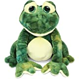 """Puzzled Squat Frog Super Soft Stuffed Plush Cuddly Animal Toy - Animals Collection - 8"""" INCH - Unique huggable loveable New friend Gift - Item #5015"""