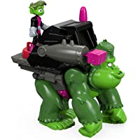 Imaginext Fisher Price Juguete Teen Titans Go Beast Boy and Gorilla