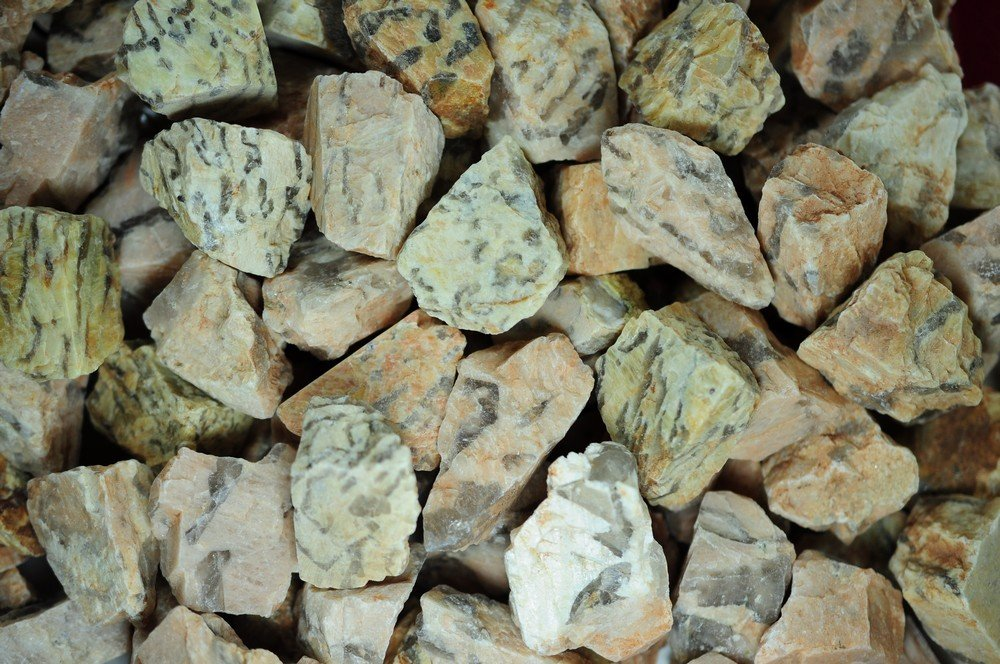 Fantasia Materials: 1 lb Zebradorite Rough - (Select 1 to 18 lbs) - Raw Natural Crystals for Cabbing, Cutting, Lapidary, Tumbling, Polishing, Wire Wrapping, Wicca and Reiki Crystal Healing