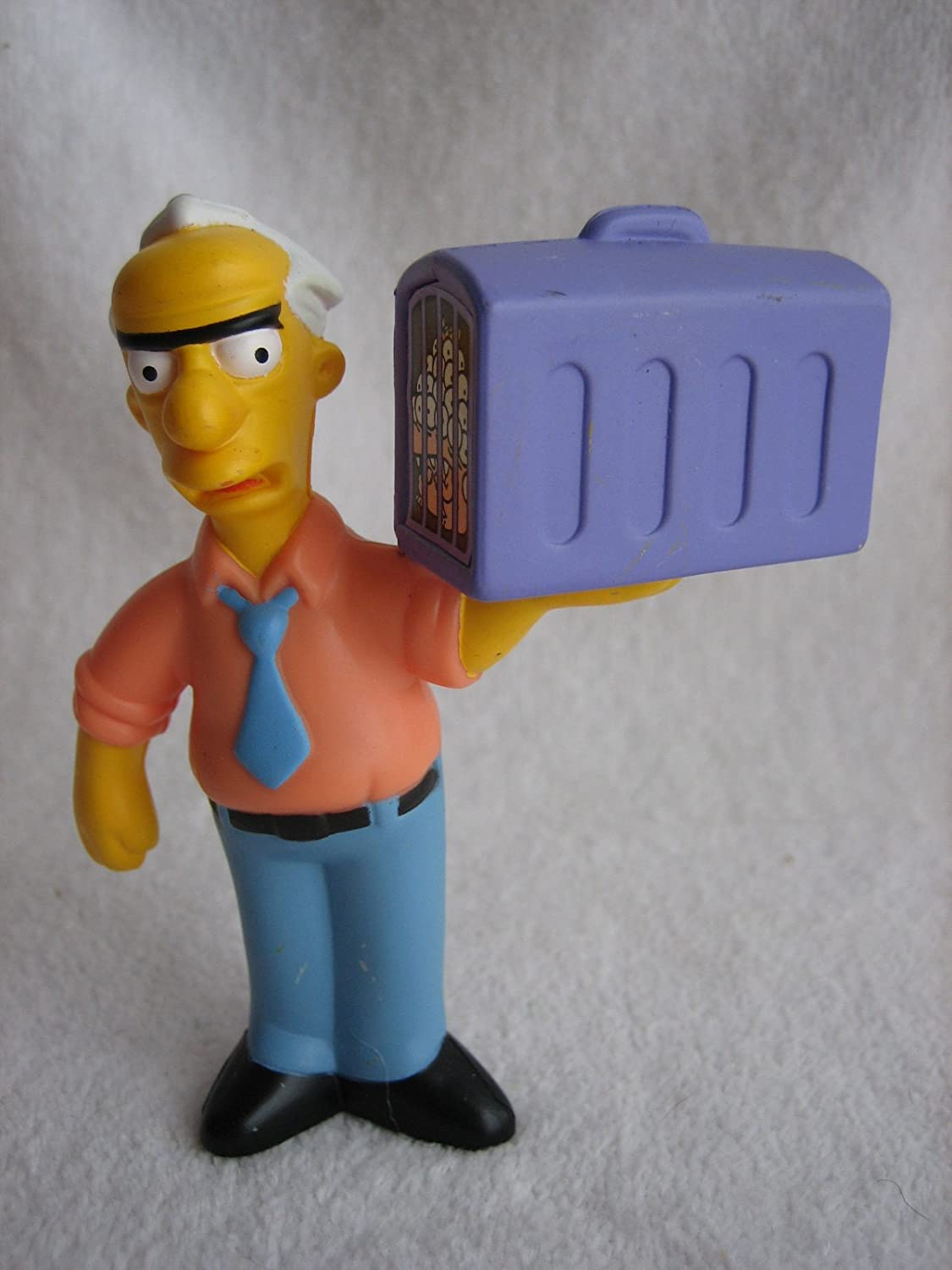 Amazon Com Burger King Simpsons The Movie Russ Cargill 2007 Kids Meal Toy Toys Games