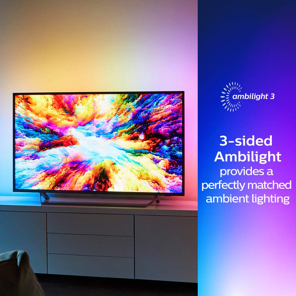 Genialny Philips 43PUS7303/12 43-Inch 4K Ultra HD Android Smart TV with HDR FQ04