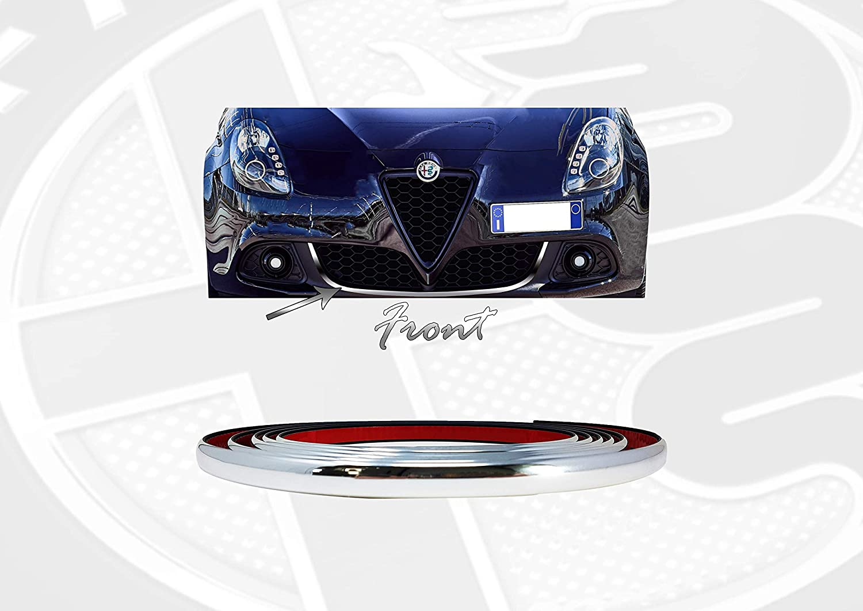 Quattroerre 31869 Profilo Giallo Adesivo per Dam Paraurti Posteriore Alfa Giulietta con Biadesivo 3M APT