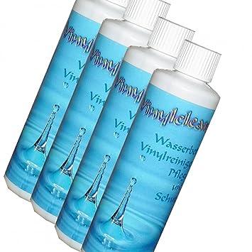 Top STRICKER Wasserbetten Vinylreiniger - 4 x 250 ml Pflegemittel zur ZX04