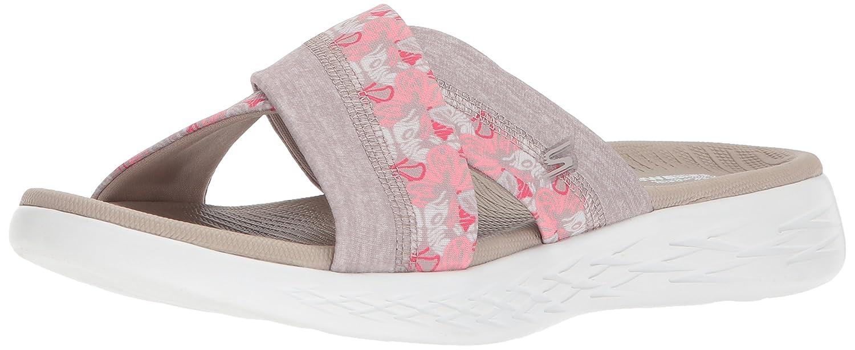 Skechers Women's On-The-Go 600 - Monarch Slide Sandal,