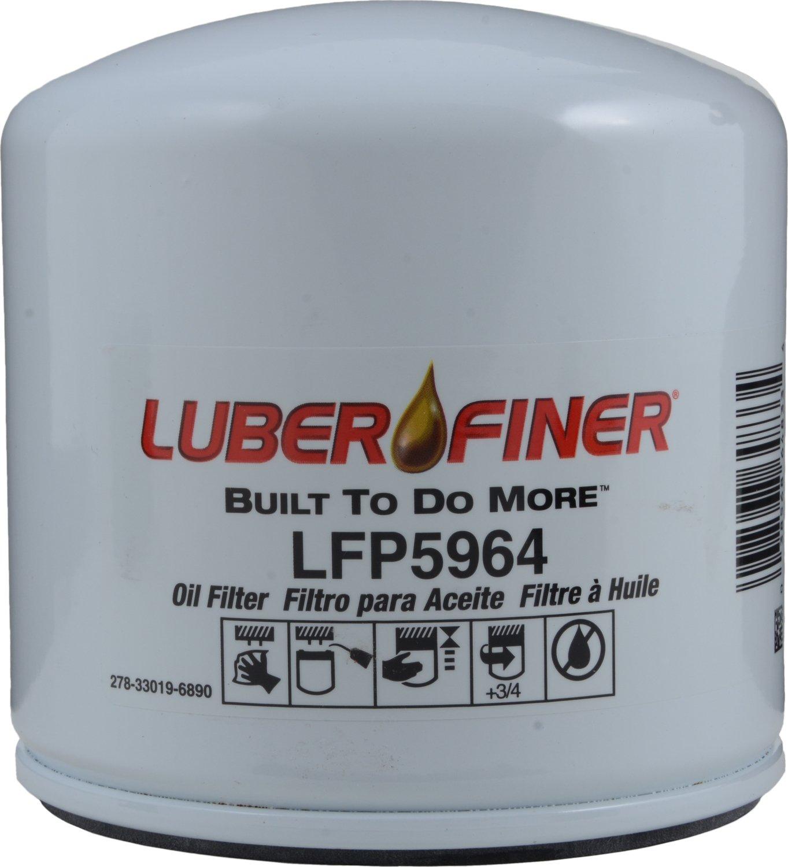 Luber-finer LFP5964-6PK Heavy Duty Oil Filter, 6 Pack