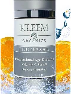 Orgánico Vitamina C Serum Para la cara con ácido hialurónico y vitamina E