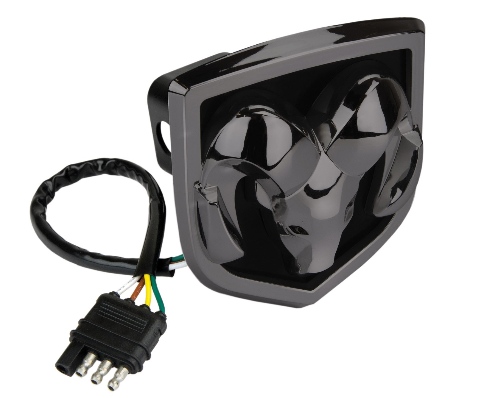Reese Towpower 86531 Black Finish Lighted Hitch Cover (RAM) by Reese Towpower