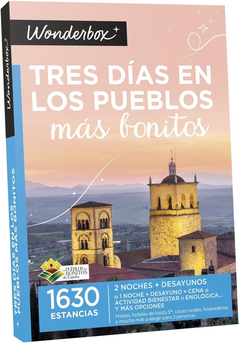 Wonderbox 2017. Tres días en los pueblos más Bonitos: Amazon.es ...