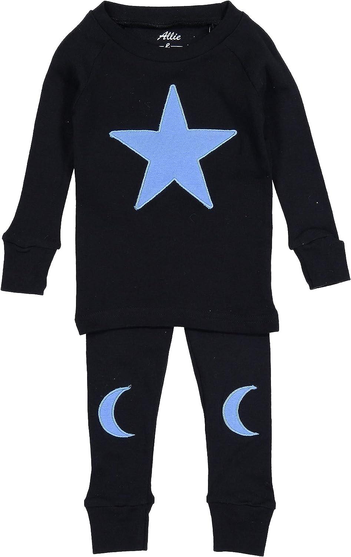 Allie & Oliver 100% Cotton Snug Fit Unisex Toddler, Baby, Kids Pjs Pajamas Set