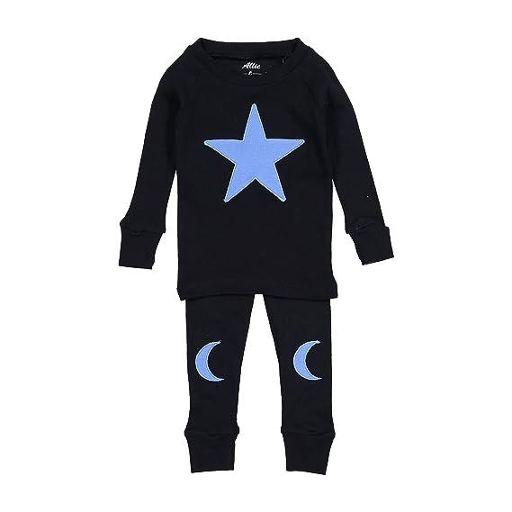 Kids Pjs Pajamas Set Baby Allie /& Oliver 100/% Cotton Snug Fit Unisex Toddler