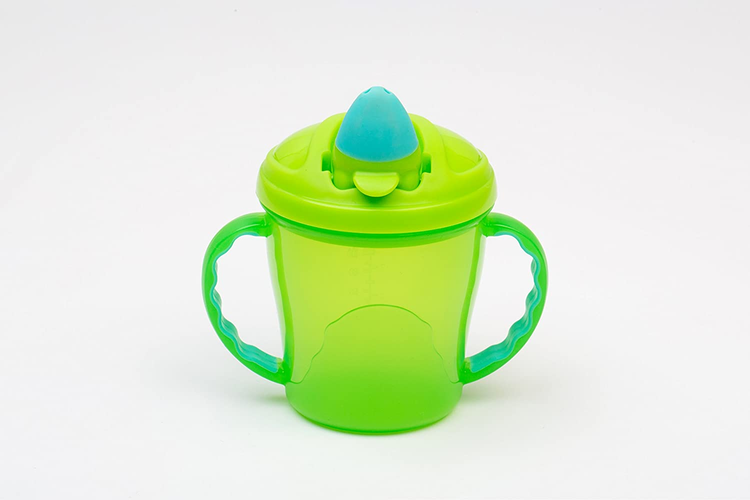 Vital Baby Free Flow Cup, Green and Turquoise 443562