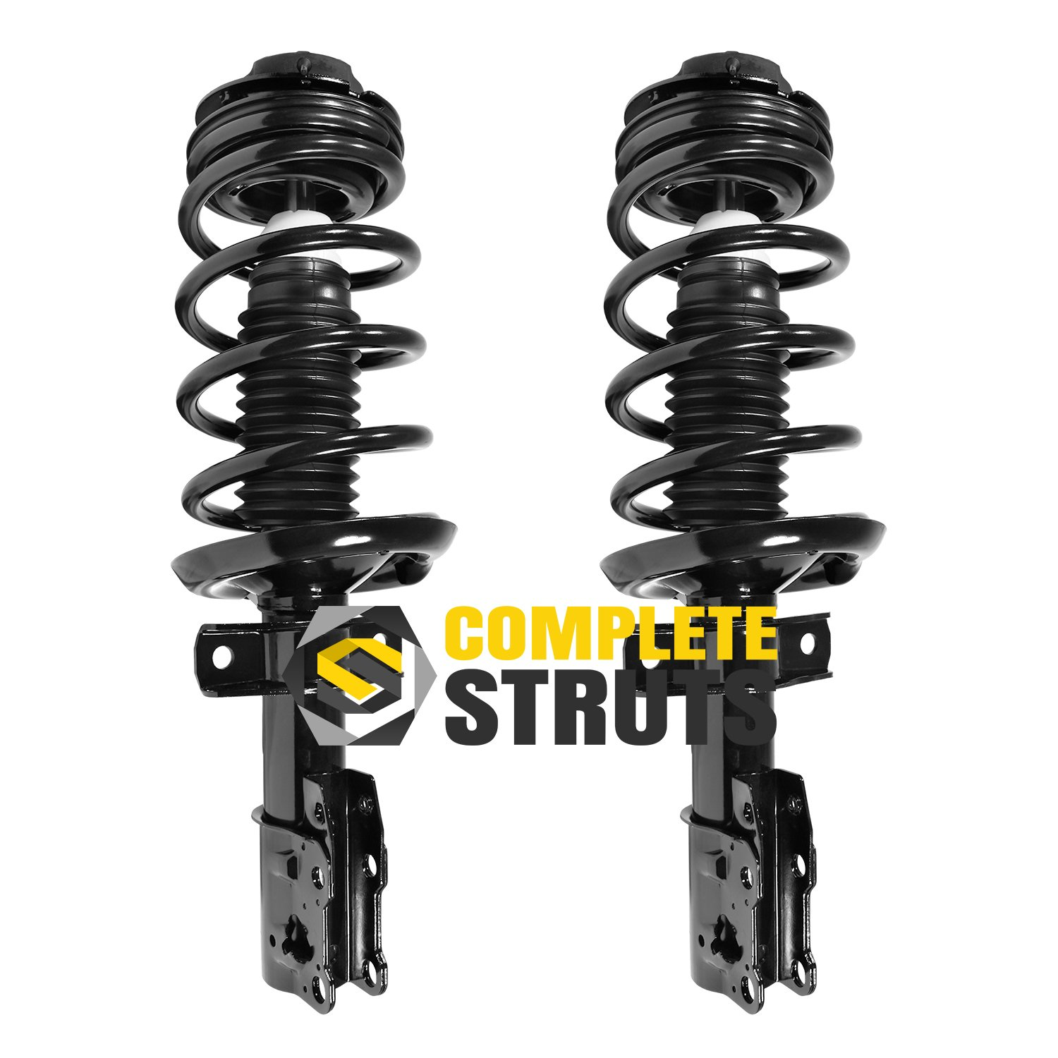 Autosaver88 Pair new Rear Left Right Complete Struts Shocks Absorber Driver Passenger Side for 2006 2007 2008 2009 2010 2012 2013 2014 2015 Mazda 5 2004 2005 2006 2007 2008 2009 Mazda 3 343412 5607 70