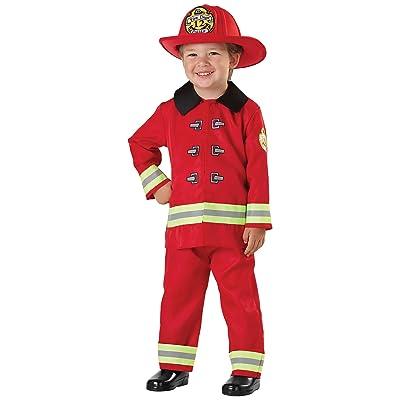 Child Fireman Costume: Clothing